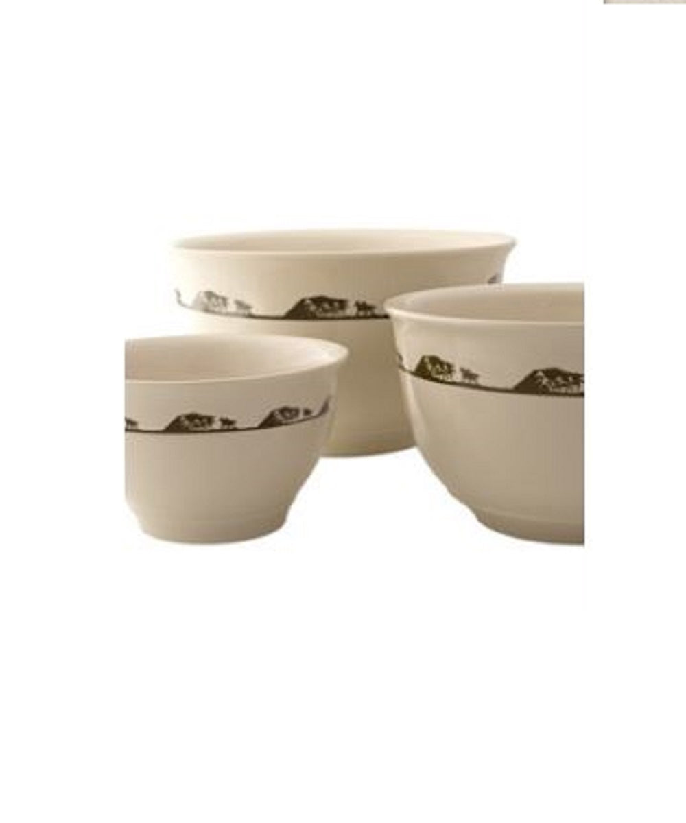 Moss Brothers Running Horses Mixing Bowl Set- Style #HW-9202
