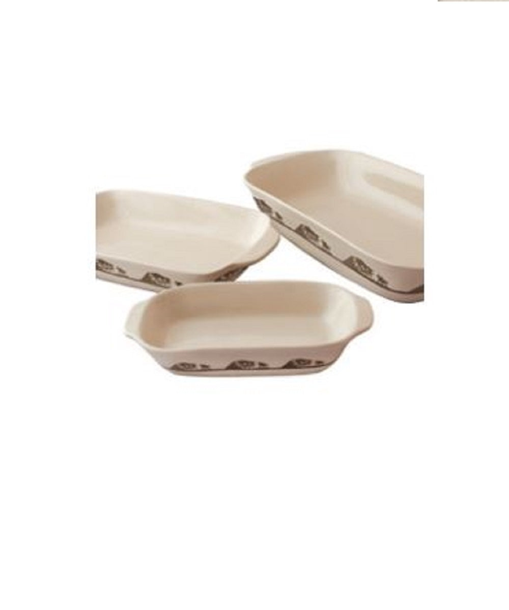 Moss Brothers 3 Piece Baking Dish Set- Style #HW-9302
