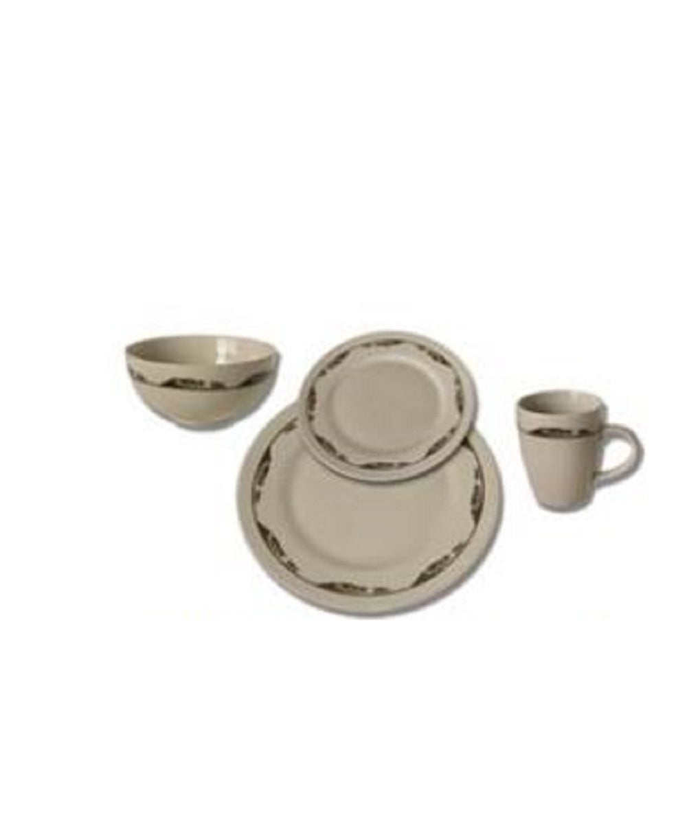 Moss Brothers 16 Piece Dinnerware- Style #HW-9902