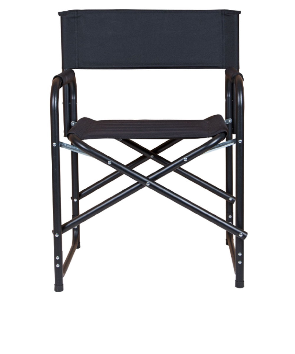 Dura Tech Black Folding Director's chair- Style #JX38051
