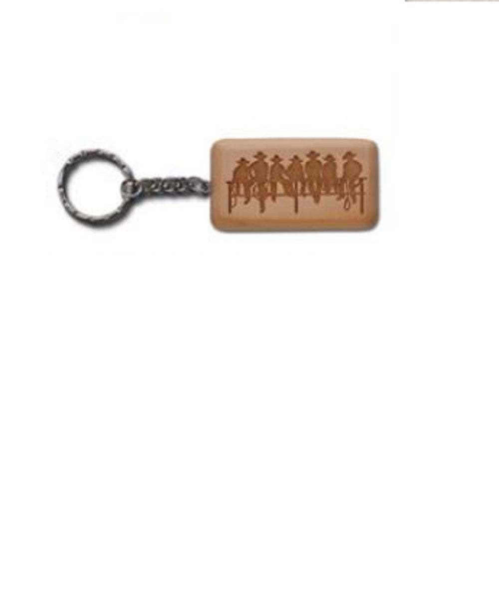 Moss Brothers Wooden Key Chain- Style #KC-5067