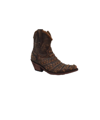 LIBERTY BLACK WOMEN'S VINTAGE CANELA ANKLE BOOT- STYLE #LB 7111222