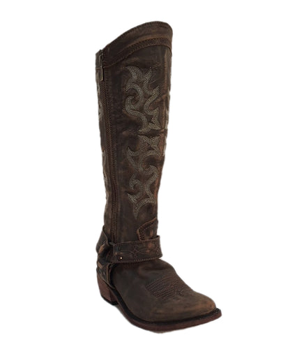 Liberty Black Women's Vintage Canela Tall Harness Boot- Style #LB 711135