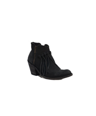 LIBERTY BLACK WOMEN'S VEGAS BLACK ANKLE BOOT- STYLE #LB 712323