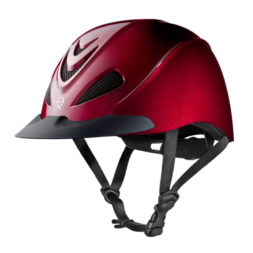 TROXEL LIBERTY RUBY RIDING HELMET- STYLE #LIBERTY RUB