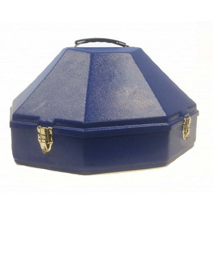 Hammer Plastics Large Western Royal Blue Hat Can- Style #M03 ROYAL BLUE