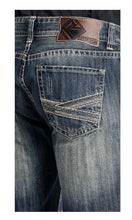 Rock & Roll Cowboy Men's Double Barrel Zig Zag Jean- Style #M0S5123