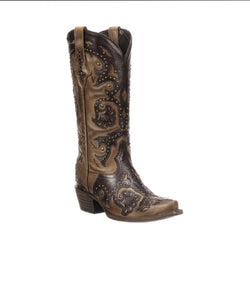 Lucchese Women's Fiona Leather Boot- Style #M5015