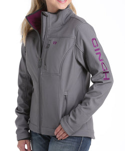 Cinch Women's Gray Concealed Carry Bonded Jacket- Style #MAJ9866013