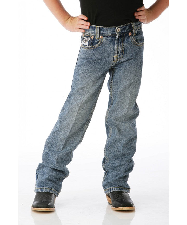 Cinch Boys' White Label Traditional Fit Jean- Style #MB12882001