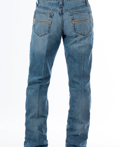 Cinch Men's Relaxed Fit Carter 2.0 Light Stonewash Jean- Style #MB71934007