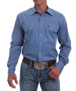 Cinch Men's Geo Print Western Snap Shirt- Style #MTW1301039