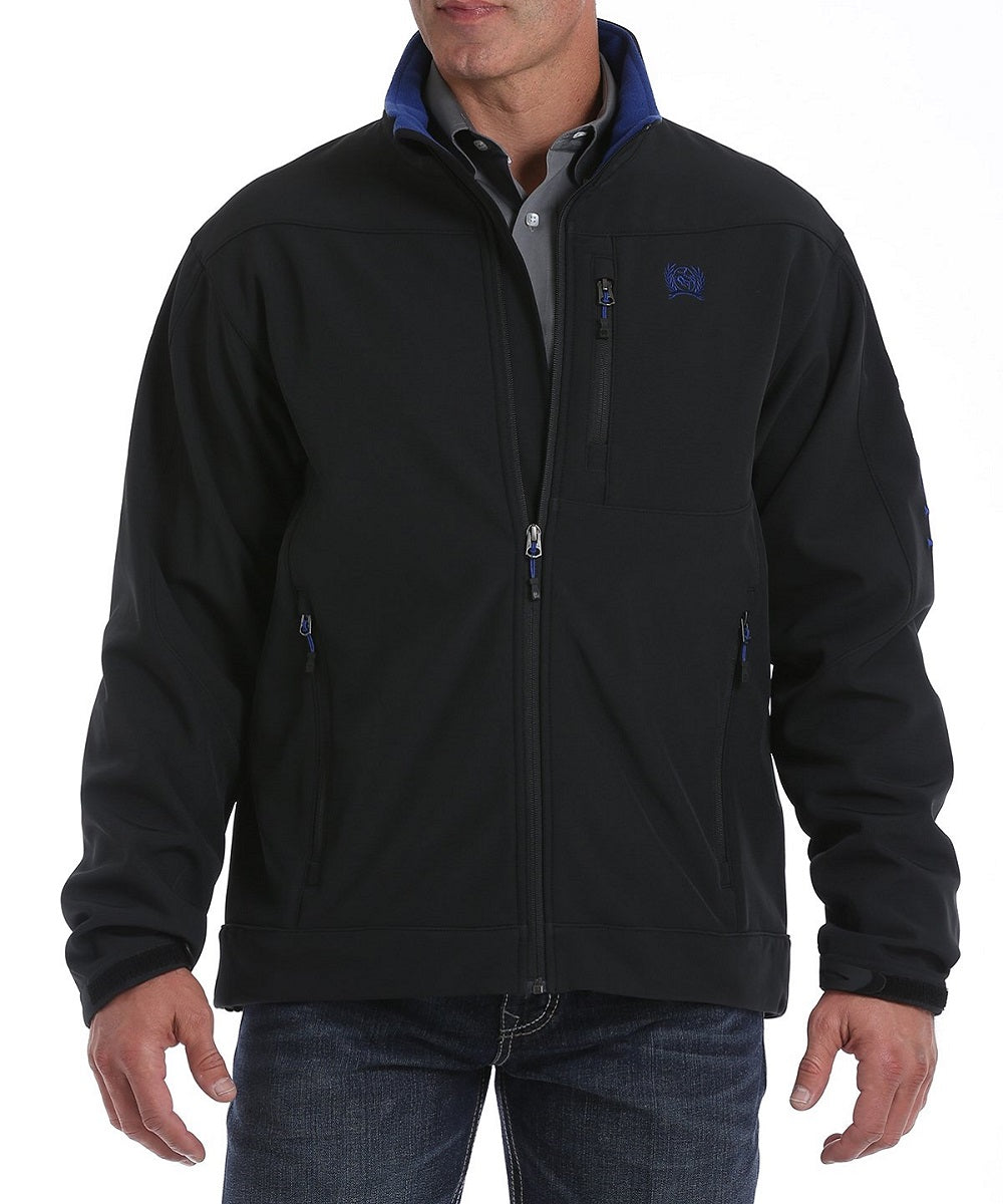 Cinch Men's Black And Blue Bonded Jacket- Style #MWJ1077062