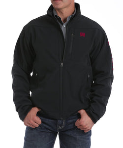 Cinch Men's Black & Red Bonded Jacket- Style #MWJ107765X