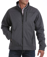 Cinch Men's Textured Heather Gray Bonded Jacket- Style #MWJ1086002