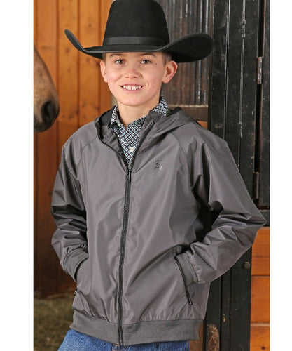 Cinch Boys' Hydrographic Wind Breaker Size Medium- Style #MWJ7550001