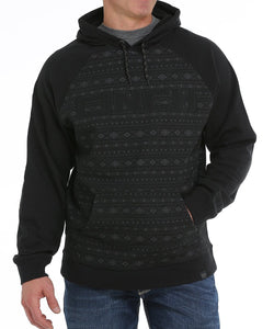Cinch Men's Printed Cinch Logo Hoodie- Style #MWK1217006