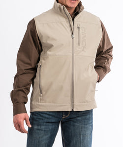 Cinch Men's Windproof Gray Vest- Style #MWV1099006