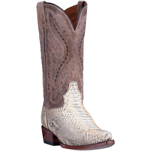 DAN POST MEN'S GENUINE PYTHON ORLANDO BOOT- STYLE #DP3003