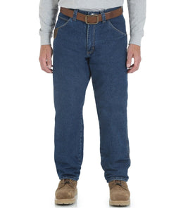 Wrangler Men's Riggs Workwear Lined Relaxed Fit Jean- Style #3W055TH