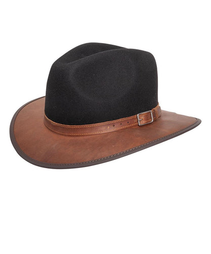 Head'N Home Women's Summit Coal Fedora- Style #SUMMIT-COAL