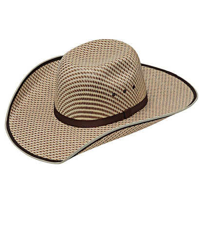 M&F Western Twister Kids' Chocolate Ribbon Youth Western Hat- Style #T71643
