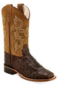 Old West Children's Caiman Print Boot- Style #BSC1830