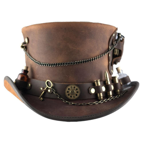 HEAD'N HOME HATS TIME PORT STEAMPUNK HAT-STYLE #TIMEPORT