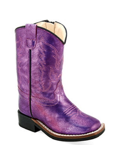 Old West Toddler Broad Square Toe Boot- Style #VB1038