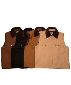 Wyoming West Cody Black Concealed Carry Vest- Style #VDB
