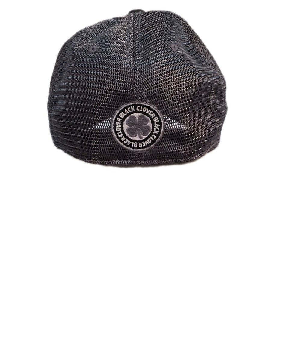 ... BLACK CLOVER VINTAGE LUCK MESH 5 FITTED BALL CAP- STYLE  VINTAGE LUCK  MESH 5 329682b6a26