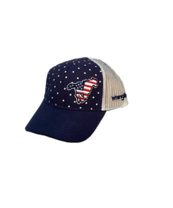 Farm Boy/Farm Girl Kids' Stars And Stripes Pony Cap- Style #W63089752