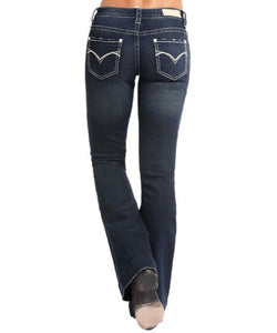 PANHANDLE WOMEN'S ROCK & ROLL COWGIRL TROUSER - STYLE #W8-6674