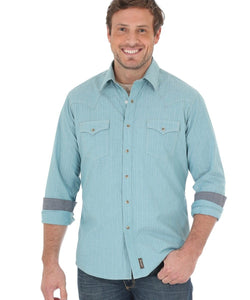 WRANGLER MEN'S RETRO SNAP SHIRT- STYLE #MVR368M