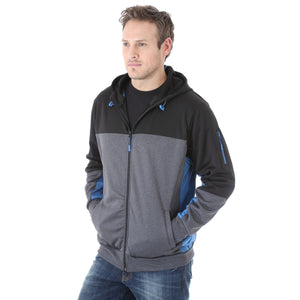 Wrangler Men's Blue And Black Foothills Jacket- Style #MJK019B