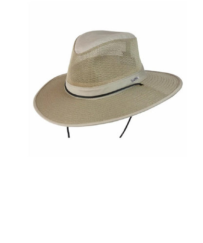 Conner Hats Hood River Organic Cotton Khaki Mesh Hat- Style #Y1003