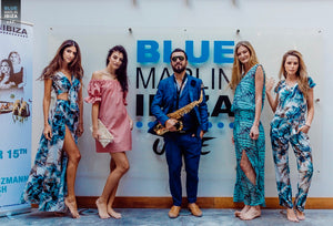 Models at Dunesi launch in Blue Marlin Ibiza UAE