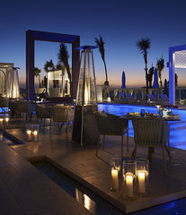 Drift beach and restaurant in One and Only Royal Mirage Dubai