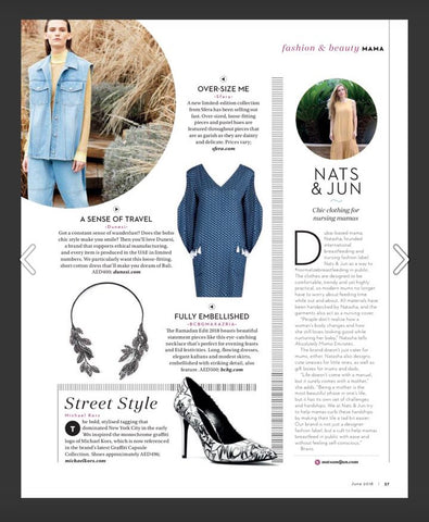 Bali Dress in Absolutely Mama Emirates June 2018