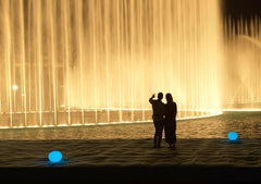 Dubai Fountain Broadwalk by Burj Khalifa