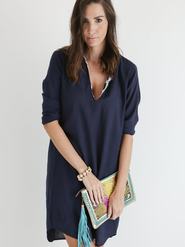 Sorrento - shirt dress - navy blue