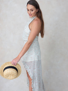 Drift - backless high/low dress
