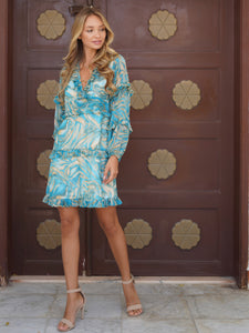 Mykonos dress ruffles Dubai