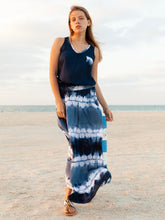 Sanddollar maxi skirt and top dubai beach fashion