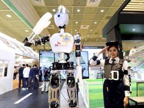 5G introduces robot systems which give away human control to AI