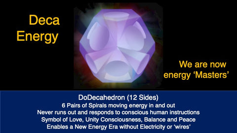 The Deca - new conscious energy solution