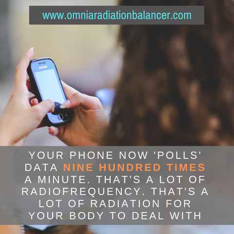 Mobile devices polling data 900 times per day