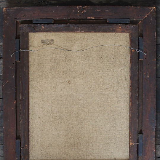 17th century canvas back