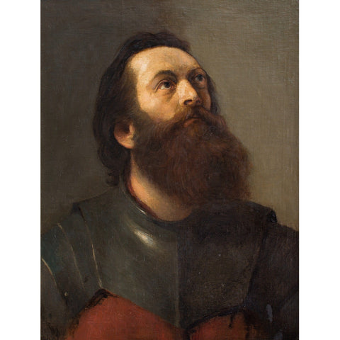 Attr. Adrien De Witte, Portrait Of A Man In Armour