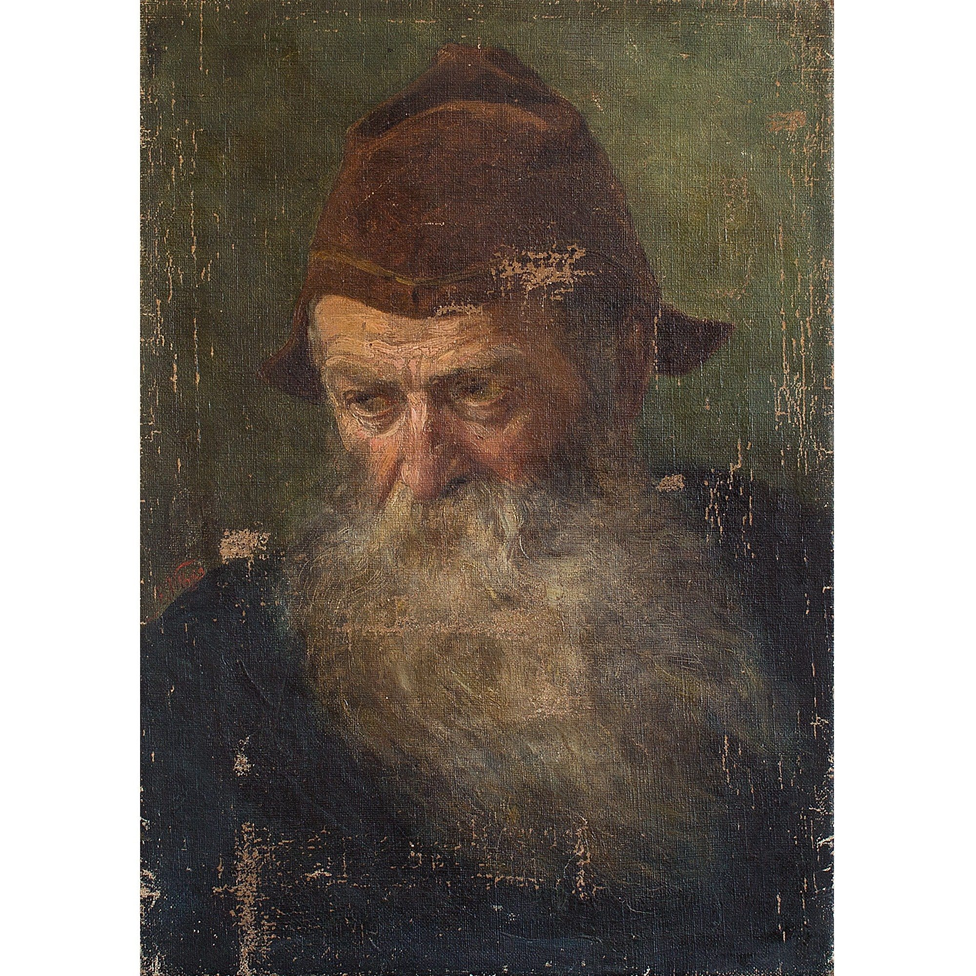 Portrait Of A Bearded French Gentleman